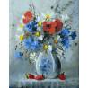 Букетик полевых цветов Картина по номерам на холсте Color Kit CG2000