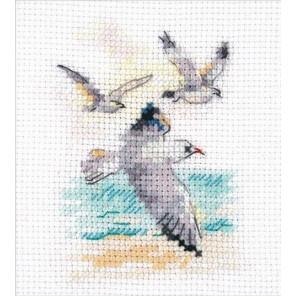 Ветер с моря. Чайки Набор для вышивания Алиса 0-221