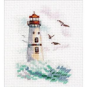 Море волнуется. Белый моряк Набор для вышивания Алиса 0-223