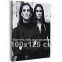 Манескин / Damiano и Ethan 100х125 см Раскраска картина по номерам на холсте