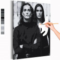 Манескин / Damiano и Ethan Раскраска картина по номерам на холсте
