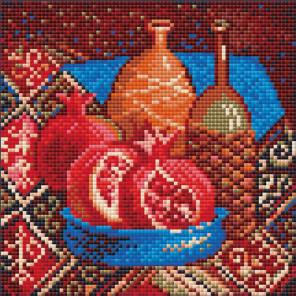 Гранаты Алмазная вышивка мозаика Риолис АМ0033