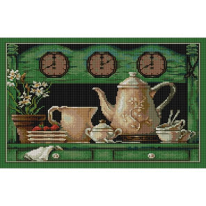 Десерт Ткань с рисунком для вышивания бисером Конек 9756