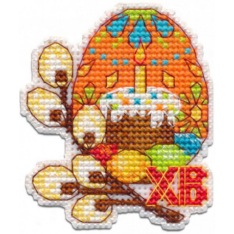 Пасхальное яйцо Набор для вышивания Овен 1289