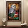 Пример готовой работы Тайная комната Набор для вышивания бисером Кроше В-285