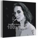 Maneskin / Damiano David черно-белый 100х100 см Раскраска картина по номерам на холсте
