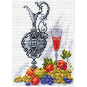 Молодое вино Канва с рисунком для вышивки крестом Матренин посад 1610
