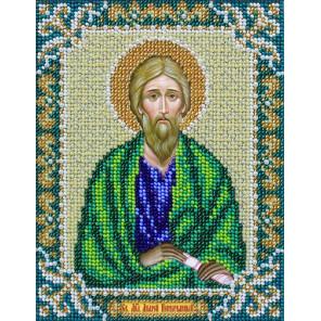 Св. Апостол Андрей Первозванный Набор для вышивания бисером Паутинка Б-734