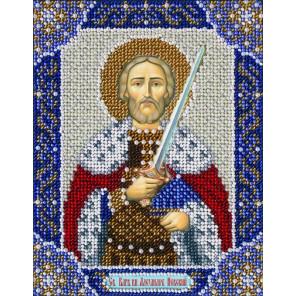 Св. Блгв. князь Александр Невский Набор для вышивания бисером Паутинка Б-736