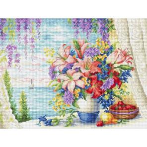 Морской бриз Набор для вышивания Многоцветница МКН 55-14