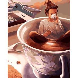 Нужно больше кофе Раскраска картина по номерам на холсте GX40221