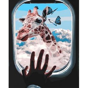 Достань до небес Раскраска картина по номерам на холсте GX40021