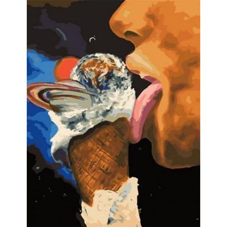 Вкус вселенной Раскраска картина по номерам на холсте PK11476