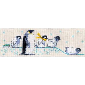 Пингвинчики Набор для вышивания Риолис 1975