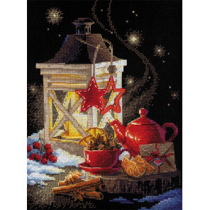 Зимний чай Набор для вышивания Риолис 1977