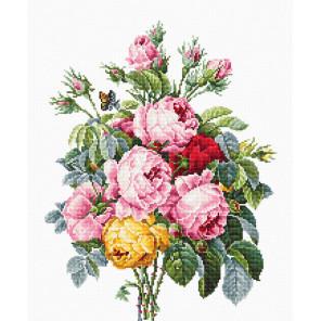 Розы Набор для вышивания LUCA-S BA2372
