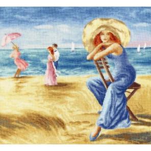 Песчаные дюны Набор для вышивания Золотое Руно ЧМ-075