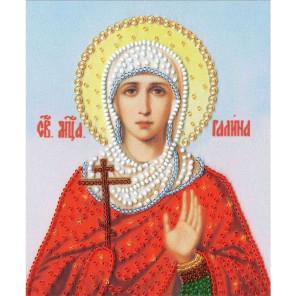 Икона Св. Галины Набор для вышивания бисером Золотое Руно РТ-143