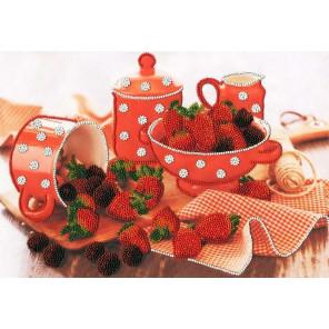 Аромат ягод Набор для вышивания бисером Золотое Руно РТ-018