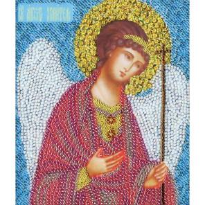 Икона Ангел Хранитель Набор для вышивания бисером Золотое Руно РТ-034