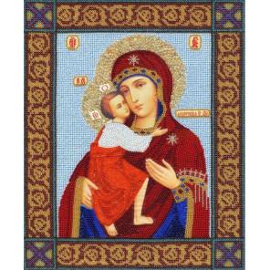 Икона Божией Матери Феодоровская Набор для вышивания бисером Золотое Руно РТ-102