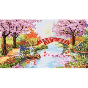 Весенний сад Набор для вышивания бисером Золотое Руно РТ-110