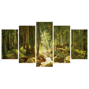 Наш лес Полиптих картина по номерам Schipper (Германия) 9450832