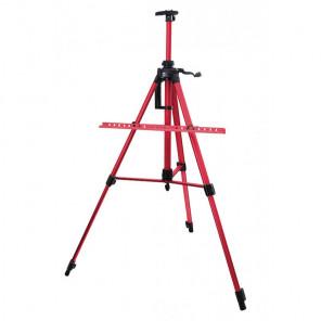 Красный Мольберт телескопический тренога с перекладиной Белоснежка 80-BS