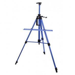 Синий Мольберт телескопический тренога с перекладиной Белоснежка 77-BS