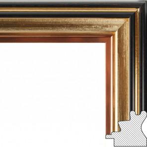Brenda Рамка багетная для картины на подрамнике и на картоне 1790-BL