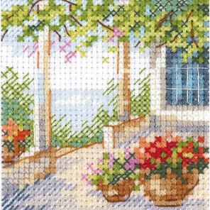 Цветочная веранда Набор для вышивания Алиса 0-201