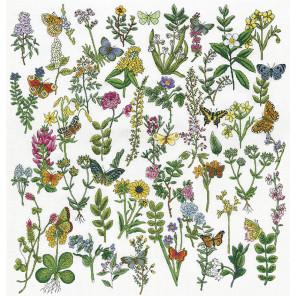 Красота Ботаники Набор для вышивания Design works 3424
