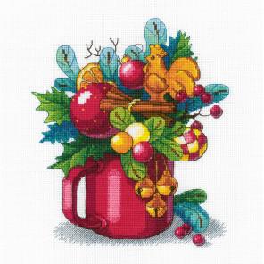 Новогодний аромат Набор для вышивания Риолис 1985