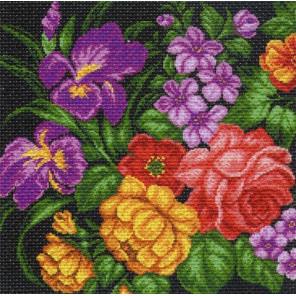 Цветы Набор для вышивания Матренин Посад 1107-Н