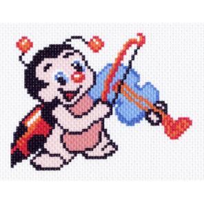 Забавная мелодия Набор для вышивания Матренин Посад 1493-Н
