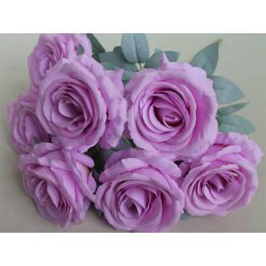 Фиолетовые розы Алмазная частичная вышивка (мозаика) Molly KM0929