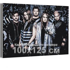 Blind Channel 100х125 см Раскраска картина по номерам на холсте AAAA-RS252-100x125