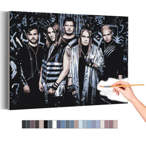 Blind Channel Раскраска картина по номерам на холсте AAAA-RS252