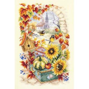 Яркая осень Набор для вышивания Чудесная Игла 110-950