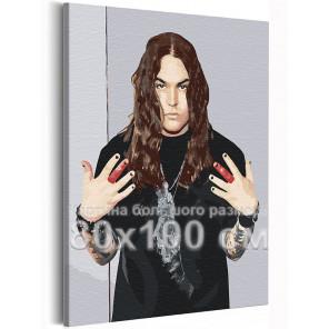 Нико / Blind Channel 80х100 см Раскраска картина по номерам на холсте AAAA-RS254-80x100