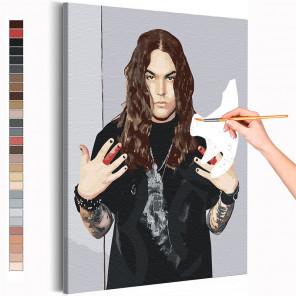 Нико / Blind Channel Раскраска картина по номерам на холсте AAAA-RS254