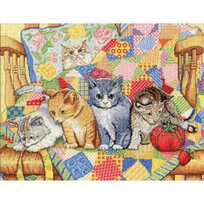 Качающиеся котята Набор для вышивания Design works 2922