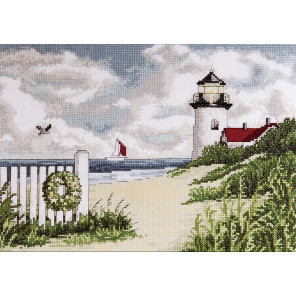 Тихие берега Набор для вышивания Design works 2591