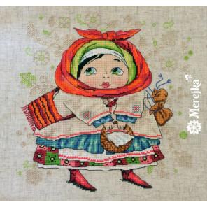 На ярмарку Набор для вышивания Merejka K-24