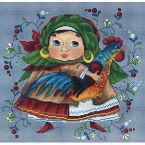 С петушком Набор для вышивания Merejka K-11