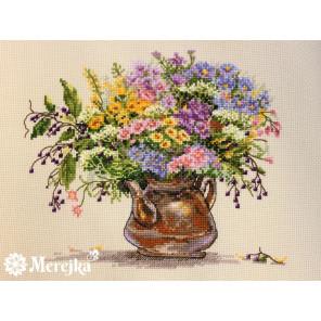 Полевые цветы Набор для вышивания Merejka K-16
