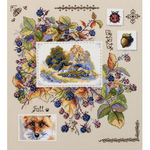 Осенний семплер Набор для вышивания Merejka K-131