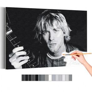 Курт Кобейн / Нирвана / Музыка Раскраска картина по номерам на холсте AAAA-RS337