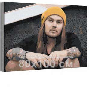 Нико Вильхельм / Blind Channel 80х100 см Раскраска картина по номерам на холсте AAAA-RS255-80x100