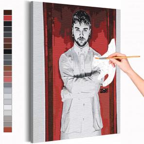 Олли / Olli Matela / Blind Channel Раскраска картина по номерам на холсте